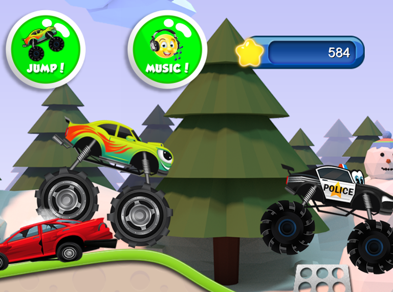Monster Trucks for Kids 2!